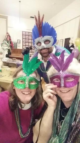 Mardi Gras Partygoers 2019